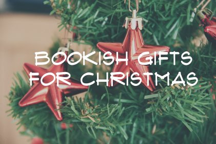 bookish xmas gifts